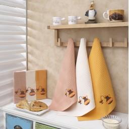 Набор вафельных полотенец ( 2 шт.)