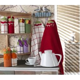 Кухня полотенце (2шт.) ОВОЩИ