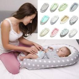 Гнездышко-кокон для детской кроватки